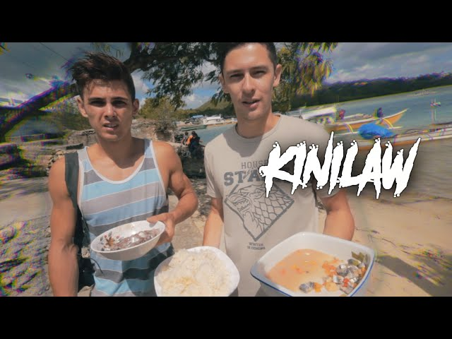 We ate raw fish in the Philippines - Kinilaw