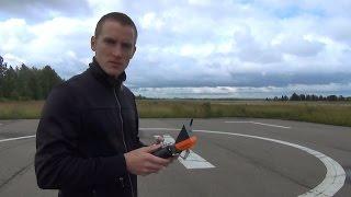 ПОТЕРЯ и поиск квадрокоптера Wingsland Scarlet Minivet FPV...замер дальности, обзор.