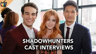 Shadowhunters - Freeform Upfronts Cast Interviews