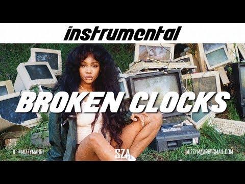 SZA - Broken Clocks (INSTRUMENTAL) *reprod*