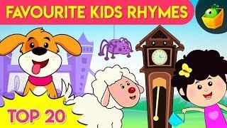 Top 20 Nursery Rhymes! | Nursery Rhymes for Babies | Songs for Kids
