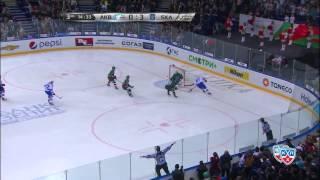 Лучшие моменты финала Кубка Гагарина 2015 / KHL Gagarin Cup Finals Top 10 Moments