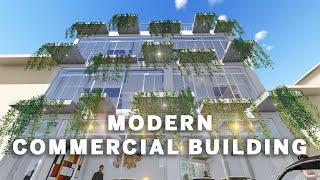 MODERN COMMERCIAL BUILDING DESIGN   3D INTERIOR DESIGN   ARCHITECTURE- ITAHARI- NEPAL