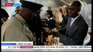 Maafisa wa polisi wanasa pombe haramu Meru