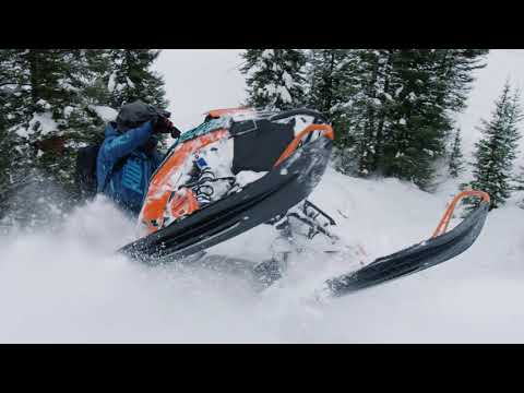 2022 Polaris Patriot Boost 850 RMK KHAOS Matryx Slash 155 SC in Mio, Michigan - Video 2