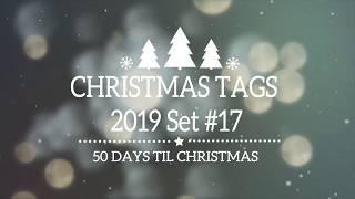 Christmas Tags #17, Craft Fair and Teacher Gifts