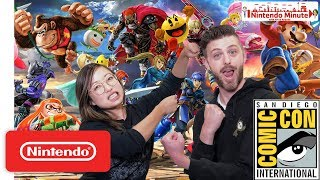 I was on the Nintendo Minute at SDCC 2018!