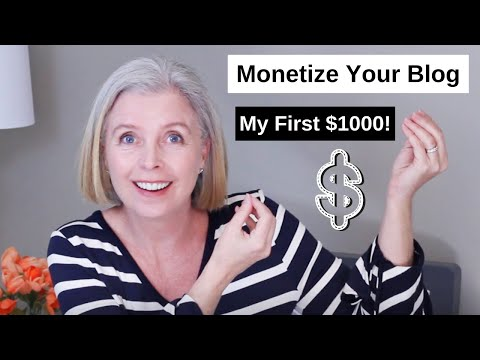 , title : 'How to Monetize a Blog on Wordpress   How I made my first $1000 Blogging
