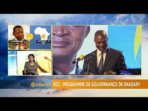 DRC's ruling party candidate launches 5 year devt plan [The Morning Call]
