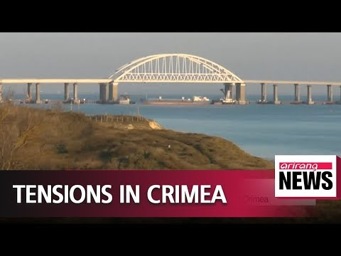 Russia opens fire on Ukrainian ships off coast of Crimea