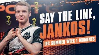 LEC : la première semaine du Summer Split des G2