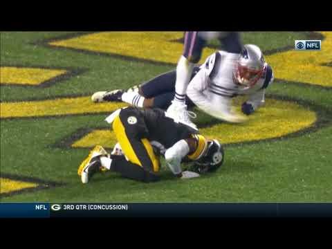Antonio Brown suffers ankle injury: Steelers vs Patriots Week 15