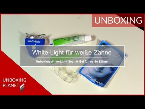 White-Light-Set mit Gel für weiße Zähne