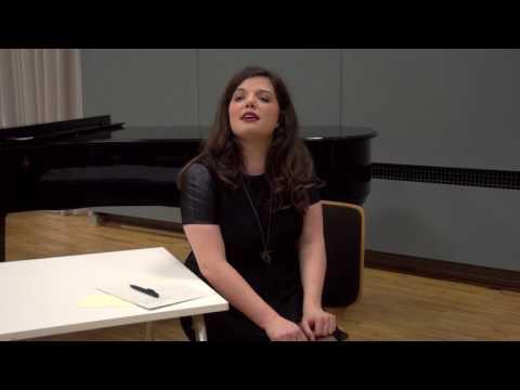 """Having fun performing """"Der Abschiedsbrief"""" by Kurt Weill"""