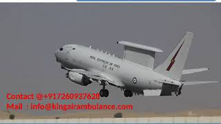 Hire the Best King Air Ambulance Services in Raipur and Bhopal