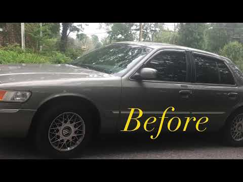 Grand Marquis Wheel Change Time Lapse