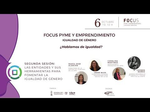 Las entidades y sus herramientas para fomentar la igualdad de género- Focus Pyme Igualdad de Género[;;;][;;;]