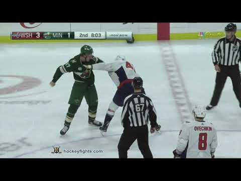 Tom Wilson vs Marcus Foligno