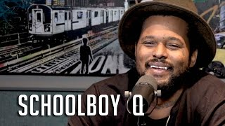 Ebro In The Morning - ScHoolboy Q Talks How He Got Kanye West on his Song, He Almost Quit Rapping + Couldn't Read Until 9!