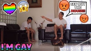 I'M GAY PRANK ON ASIAN DAD! (MUST WATCH)