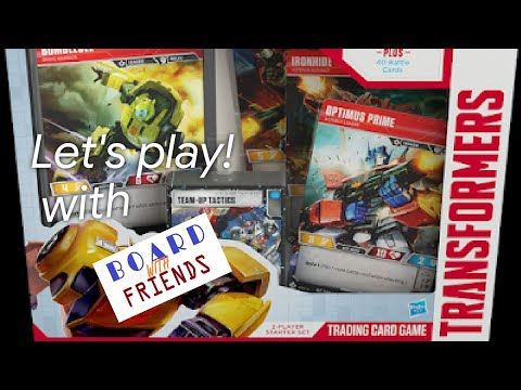 Let's play! Transformers Trading Card Game