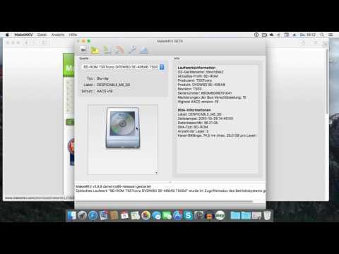 Bluray Film verlustfrei auf Festplatte kopieren (auch 3D) | MakeMKV Tutorial