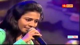 "Priyanka sings ""Ammadi Ammadi"" in Super Singer Junior 4. Download Link in Description."