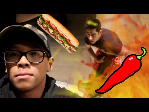 SPICY SANDWICH IN PUBLIC | PRANKED YOUTUBER (RPD TV)