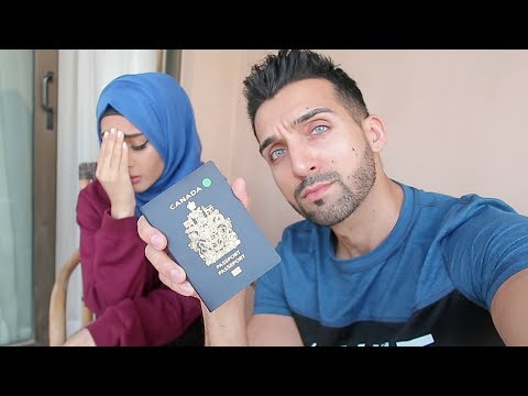 SHE LOST HER PASSPORT