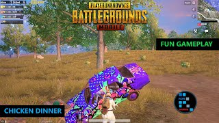 PUBG MOBILE | FUN GAMEPLAY INTENSE MATCH CHICKEN DINNER (OLD RECORDING)