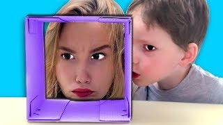 ВОЛШЕБНАЯ КОРОБКА Светы и Богдана Для Детей kids children