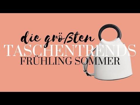 Taschentrends 2018 Frühling Sommer   Die größten Trends   Taschen Sommertrends Modeblog