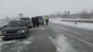 Массовое ДТП с участием более 10 машин произошло на Камчатке | Новости сегодня | Происшествия