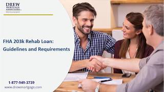Requirements of qualify for a FHA 203k Rehab Loan
