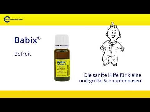 Babix das pflanzliches Arzneimittel bei Erkältungskrankheiten der Atemwege
