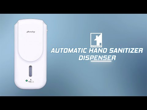 Hh 1007b Automatic Wall Mounted Sensor Touchless Hand Disinfectant Sprayer Machine