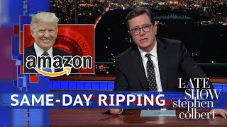 Trump Lashes Out At Amazon And