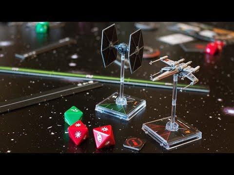 X-wing 2.0 figurás játékról bemutató