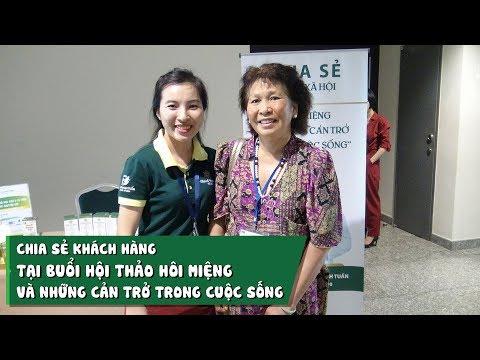 Chia sẻ của cô Trang tại Hội thảo Hôi miệng và những cản trở trong cuộc sống