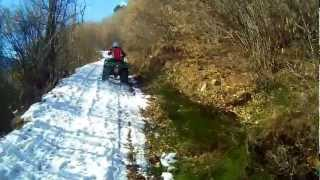 preview picture of video 'adventure mountain  quad ...........................febbraio 2013'