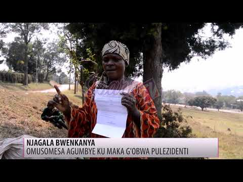 Waliwo asitudde abaana be nagumba ku maka ga pulezidenti e Masaka