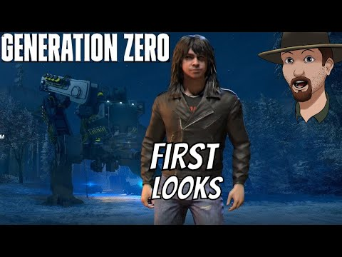 Is Generation Zero Better now?-  First Look Gameplay Ep. #1