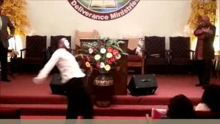 J Moss Holy is Your Word Mime with Bishop Steven L Glover