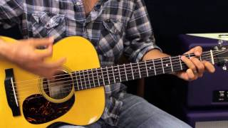 Ready Set Roll by Chase Rice - Acoustic Guitar Lesson - EASY - Country Song