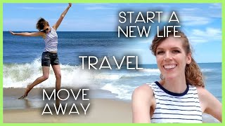 Yep... You can move away, travel, and start a new life. Here's how I did.