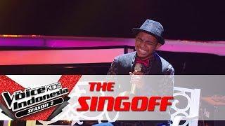 "Chiko ""Kaulah Segalanya"" | Sing Off | The Voice Kids Indonesia Season 2 GTV 2017"