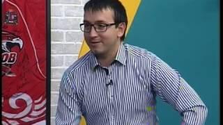 Спорт-на-Дону: Виктория Воронина и Александр Шевченко о прыжках на батуте