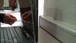 Dalle cassée sur HP Pavilion DV5 - AB1 Informatique Beziers