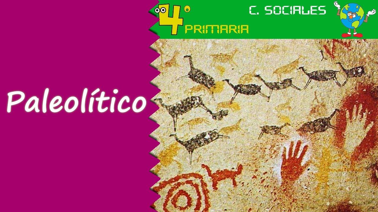 Ciencias Sociales. 4º Primaria. Tema 7. La prehistoria: el paleolítico