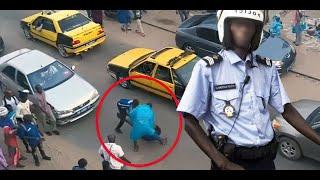 2 TAXIMAN CONTRE UN POLICIER